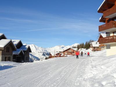 Location au ski Appartement 3 pièces 6 personnes - Résidence les Clarines - Peisey-Vallandry - Extérieur hiver