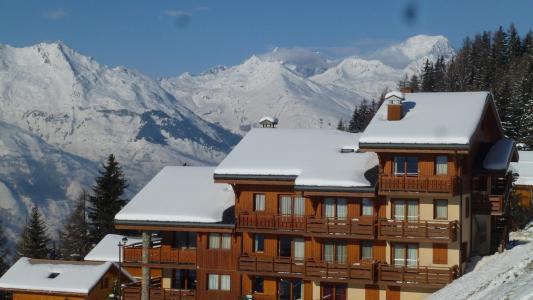 Location au ski Residence Les Epilobes - Peisey-Vallandry - Extérieur hiver
