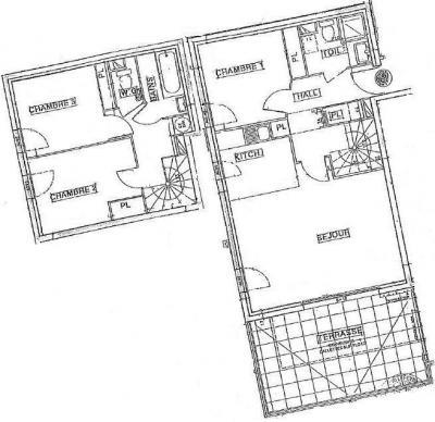 Location au ski Appartement duplex 4 pièces 8 personnes (08 R) - Residence Les Presles - Peisey-Vallandry