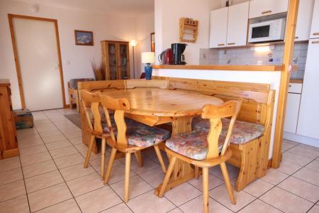 Location au ski Appartement 4 pièces 8 personnes (05) - Residence Les Presles - Peisey-Vallandry - Table