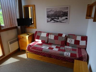 Location au ski Studio cabine 3 personnes (617) - Residence Michailles - Peisey-Vallandry - Banquette