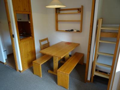 Location au ski Studio cabine 3 personnes (617) - Residence Michailles - Peisey-Vallandry - Coin repas