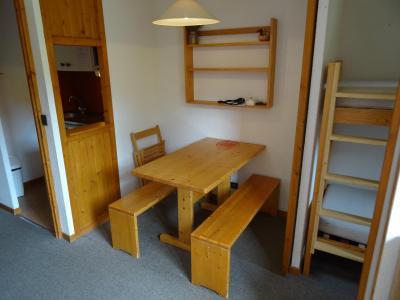 Location au ski Studio cabine 3 personnes (617) - Residence Michailles - Peisey-Vallandry - Coin repas