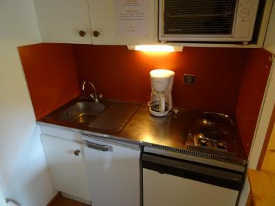 Location au ski Studio cabine 3 personnes (617) - Residence Michailles - Peisey-Vallandry - Cuisine