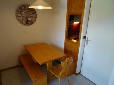 Location au ski Studio cabine 4 personnes (205) - Résidence Michailles - Peisey-Vallandry - Séjour