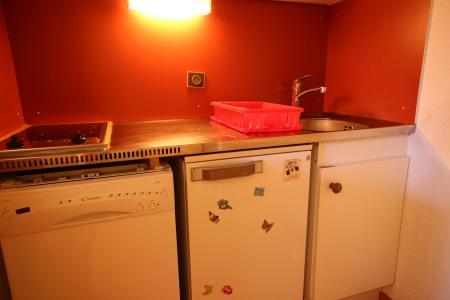 Location au ski Studio cabine 4 personnes (419) - Résidence Michailles - Peisey-Vallandry - Cuisine