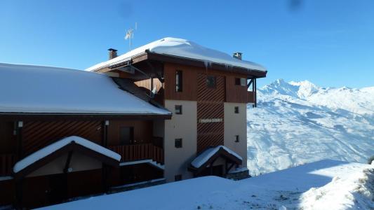 Location au ski Résidence Petite Ourse A - Peisey-Vallandry - Extérieur hiver