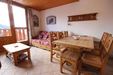 Location au ski Appartement 3 pièces cabine 7 personnes - Résidence Petite Ourse A - Peisey-Vallandry - Séjour