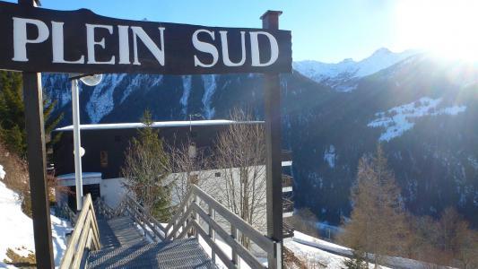 Location au ski Résidence Plein Sud - Peisey-Vallandry - Extérieur hiver