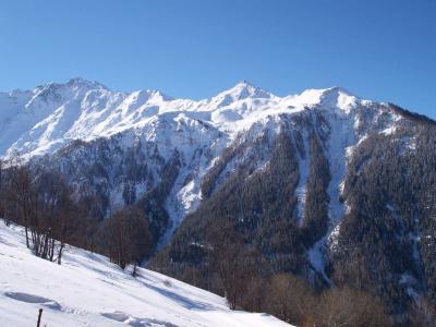 Location au ski Studio coin montagne 4 personnes (26) - Residence Plein Sud - Peisey-Vallandry - Extérieur hiver