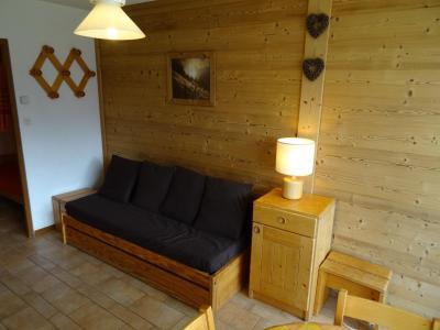 Location au ski Studio coin montagne 4 personnes (26) - Résidence Plein Sud - Peisey-Vallandry - Séjour