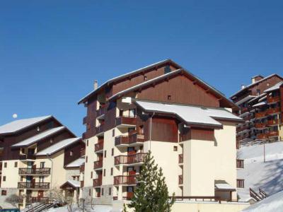 Location au ski Appartement 2 pièces 4 personnes (98) - Residence Praz De L'ours B - Peisey-Vallandry - Extérieur hiver