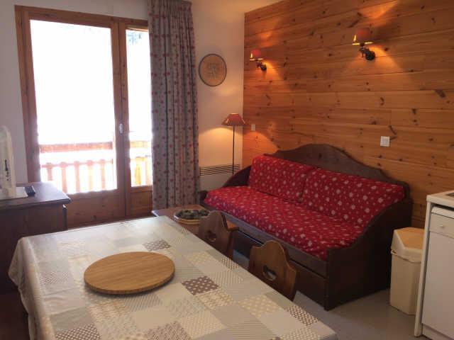 Rent in ski resort 2 room apartment sleeping corner 6 people (443) - La Residence Le Palatin - Pelvoux - Living room
