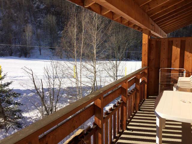 Rent in ski resort 2 room apartment sleeping corner 6 people (466) - La Residence Le Palatin - Pelvoux - Balcony
