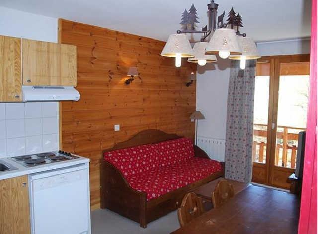 Rent in ski resort 2 room apartment sleeping corner 6 people (466) - La Residence Le Palatin - Pelvoux - Bunk beds