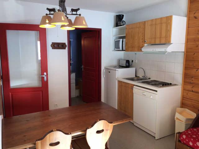 Rent in ski resort 2 room apartment sleeping corner 6 people (466) - La Residence Le Palatin - Pelvoux - Kitchenette