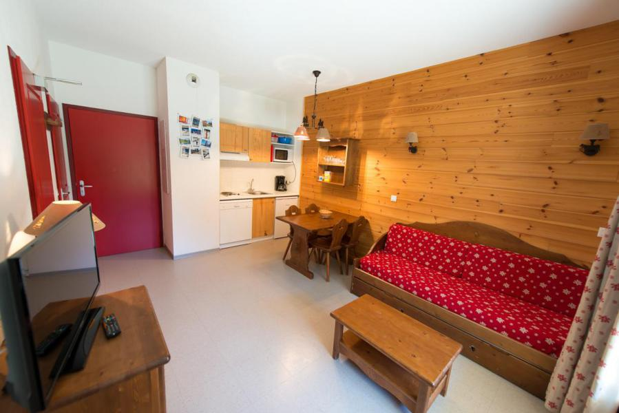 Rent in ski resort Studio sleeping corner 4 people (439) - La Résidence le Palatin - Pelvoux
