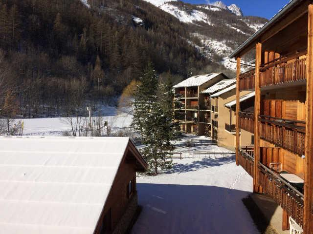Location au ski Appartement 2 pièces coin montagne 6 personnes (443) - La Résidence le Palatin - Pelvoux - Extérieur hiver