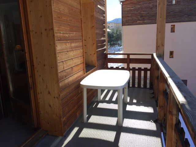 Location au ski Appartement 2 pièces coin montagne 6 personnes (443) - La Résidence le Palatin - Pelvoux - Balcon