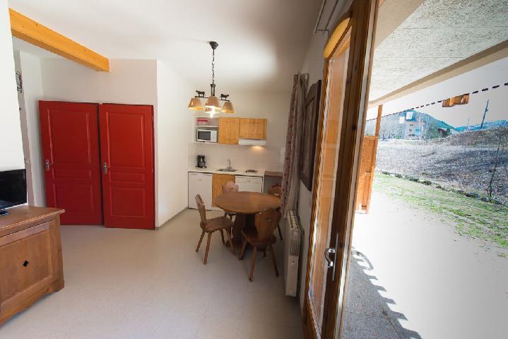 Location au ski Studio cabine 4 personnes (497) - La Résidence le Palatin - Pelvoux - Canapé-gigogne