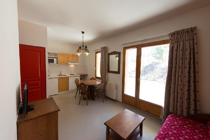 Location au ski Studio cabine 4 personnes (497) - La Résidence le Palatin - Pelvoux - Kitchenette