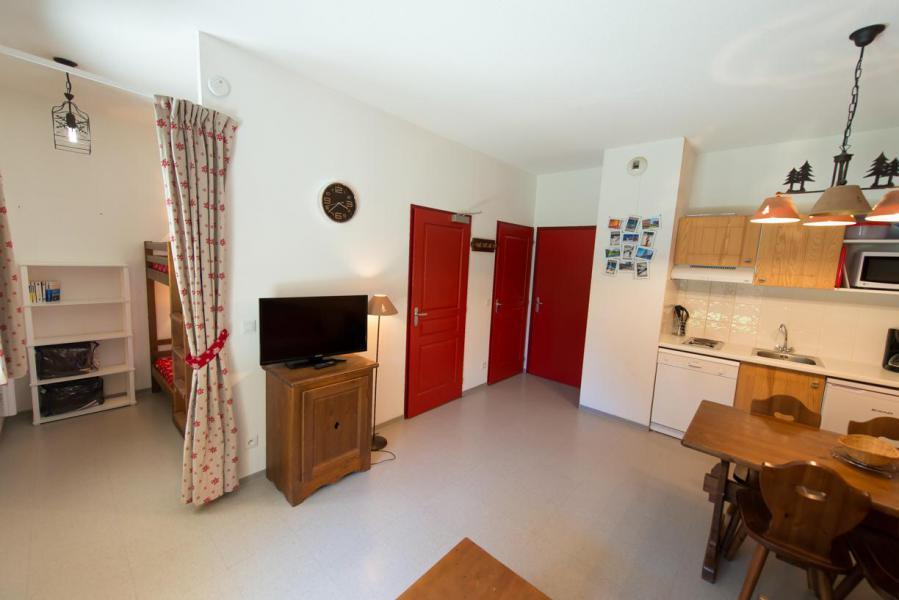 Rent in ski resort Studio sleeping corner 4 people (439) - La Residence Le Palatin - Pelvoux - Kitchenette
