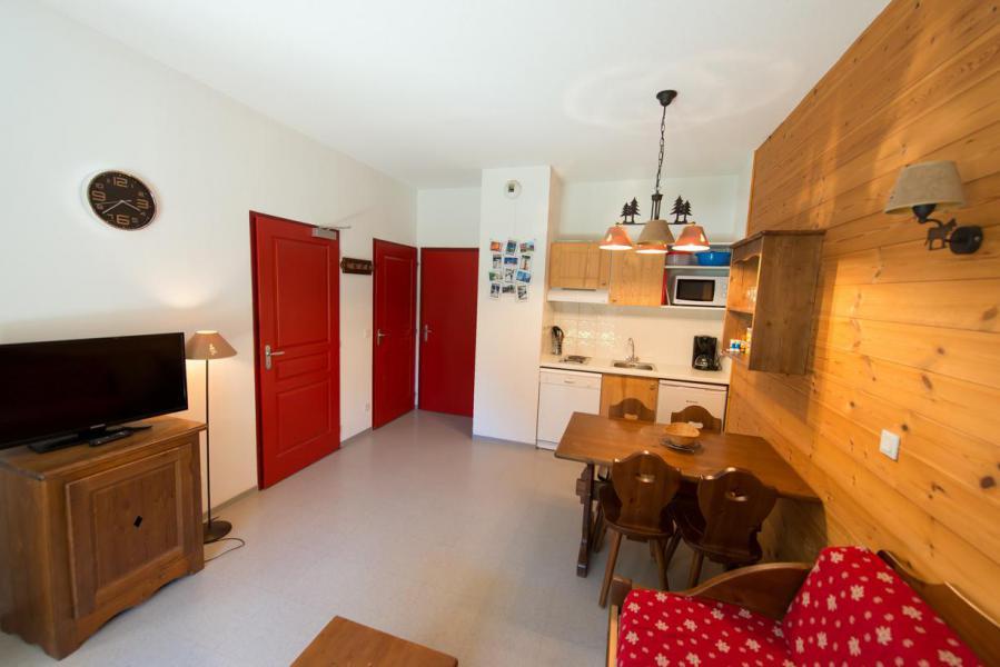 Rent in ski resort Studio sleeping corner 4 people (439) - La Residence Le Palatin - Pelvoux - Living room