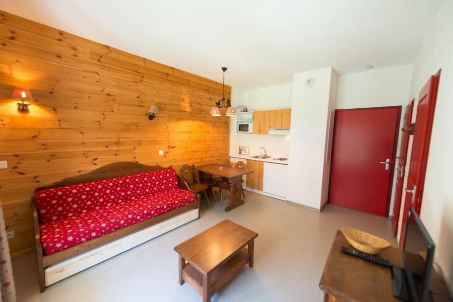 Rent in ski resort Studio sleeping corner 4 people (442) - La Residence Le Palatin - Pelvoux - Balcony