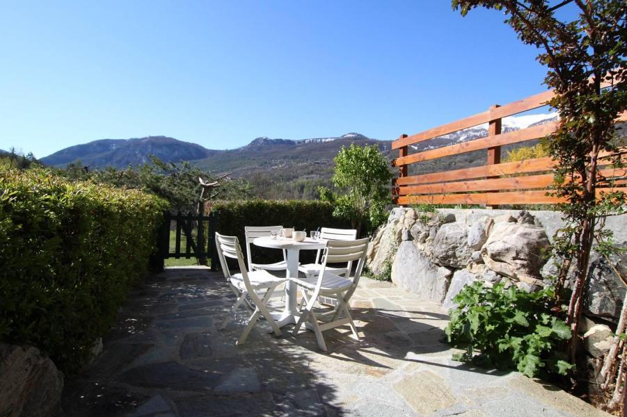 Ski verhuur Appartement 2 kamers 6 personen (ADO4B) - Résidence Adonis B - Pelvoux - Eethoek