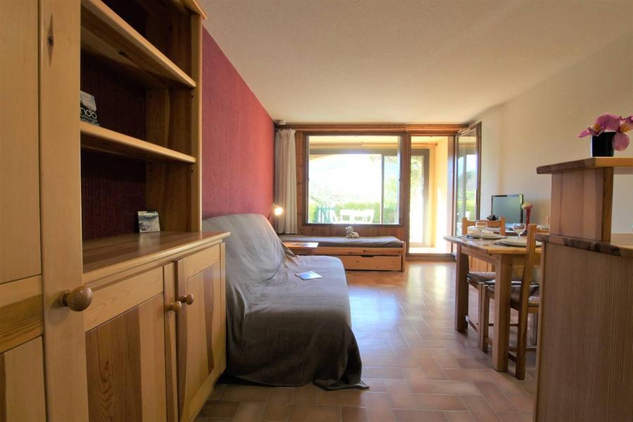 Ski verhuur Appartement 2 kamers 6 personen (ADO4B) - Résidence Adonis B - Pelvoux - Woonkamer
