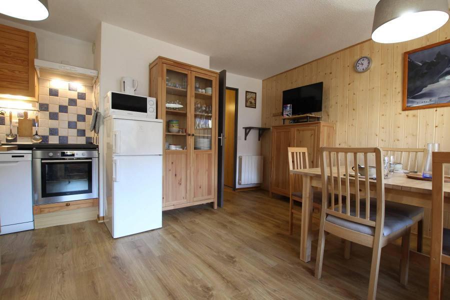 Аренда на лыжном курорте Апартаменты 2 комнат 6 чел. (CYT01F) - Résidence les Cytises - Pelvoux - Салон