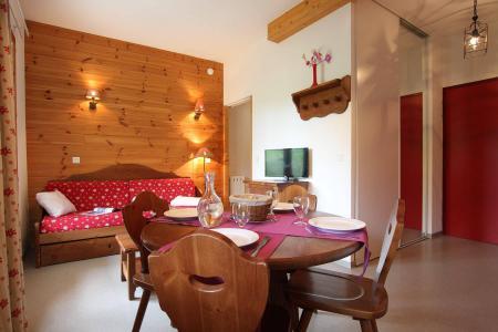 Аренда на лыжном курорте Квартира студия кабина для 4 чел. (32) - Résidence le Palatin - Pelvoux