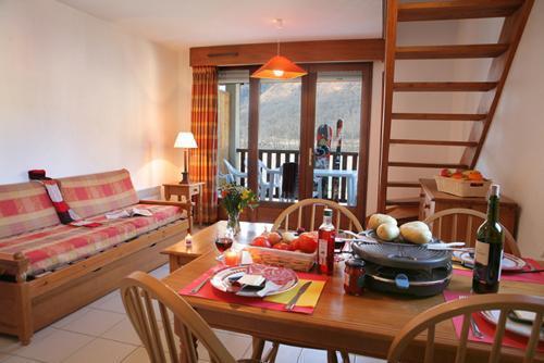 Location au ski Chalet duplex 5 pièces 12 personnes - Residence La Soulane - Peyragudes - Séjour
