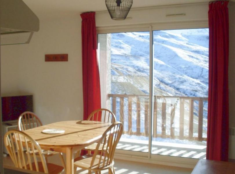 Аренда на лыжном курорте Квартира студия со спальней для 4 чел. (52) - La Résidence Royal Peyragudes - Peyragudes - Салон