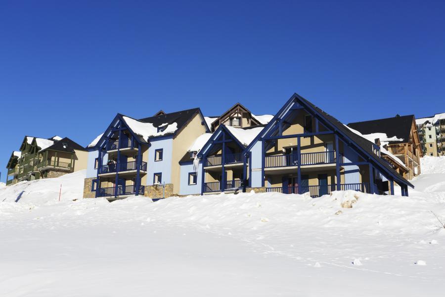 Soggiorno sugli sci Le Hameau de Balestas - Peyragudes - Esteriore inverno
