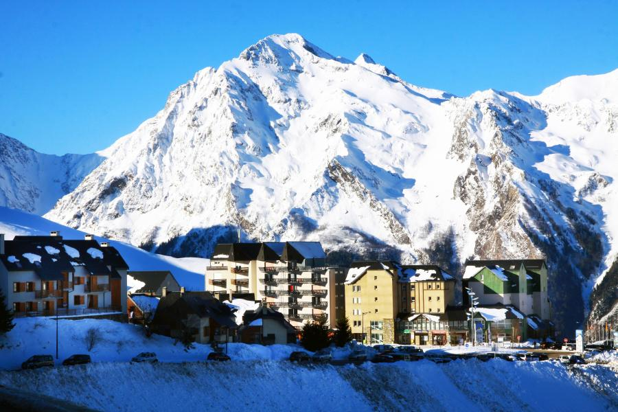 Location au ski Le Hameau de Balestas - Peyragudes - Extérieur hiver