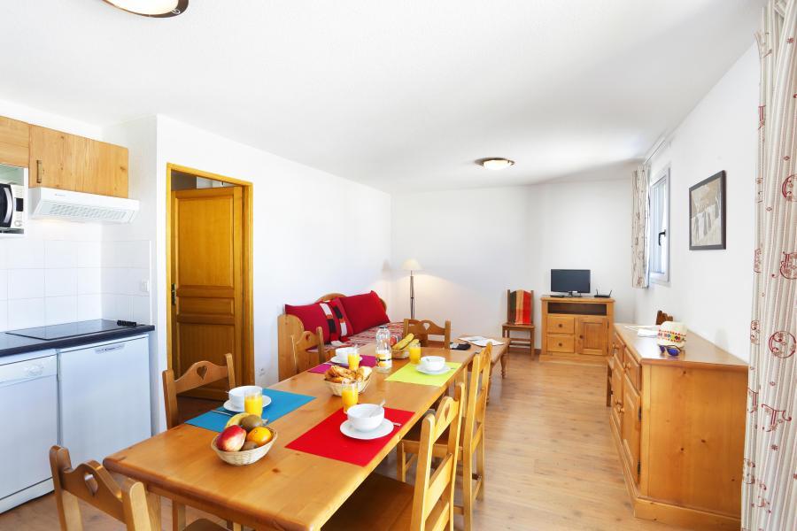 Soggiorno sugli sci Le Hameau de Balestas - Peyragudes - Cucina aperta