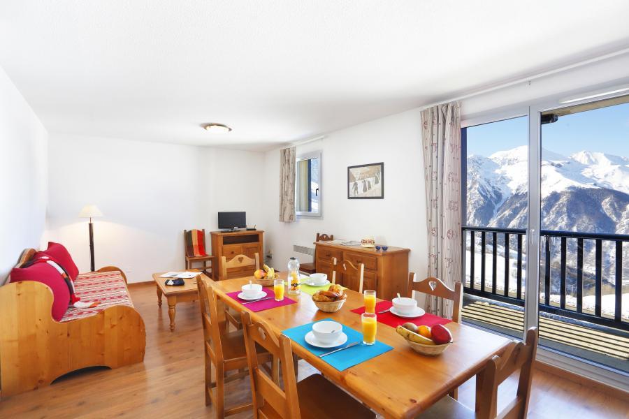 Soggiorno sugli sci Le Hameau de Balestas - Peyragudes - Sala da pranzo