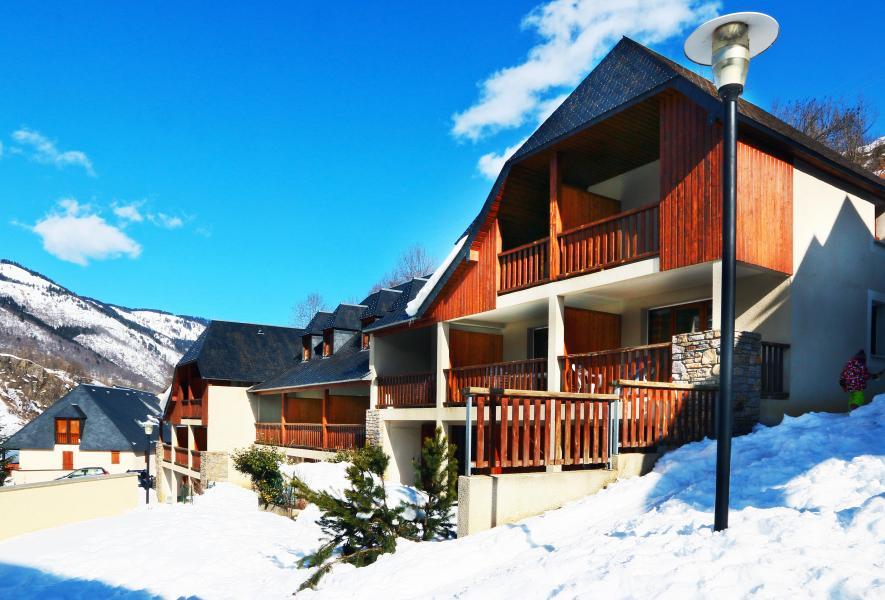 Location au ski Résidence la Soulane - Peyragudes - Extérieur hiver
