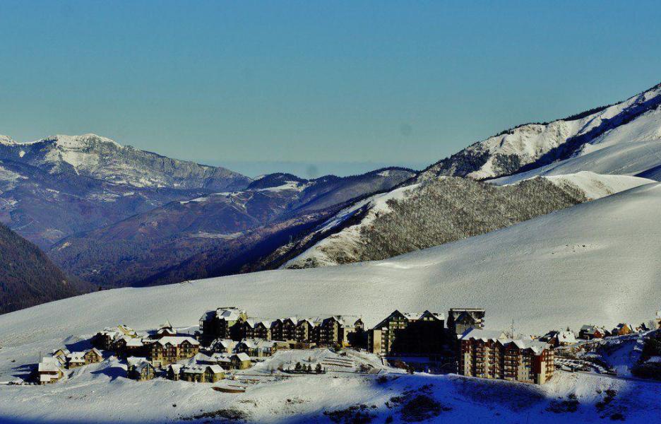 Location au ski Résidence le Hameau de Balestas - Peyragudes - Extérieur hiver