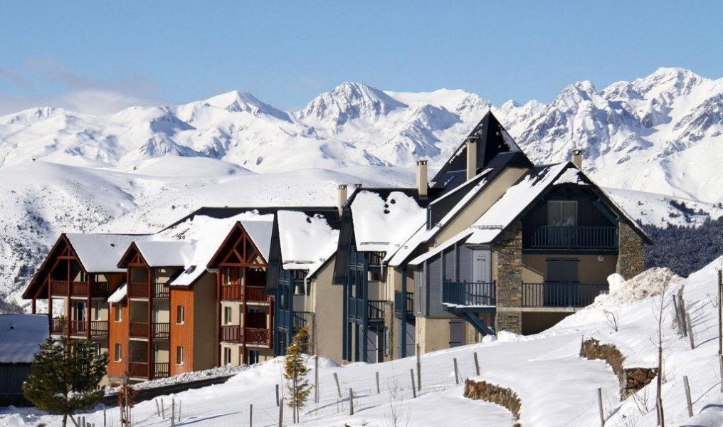 Vacaciones en montaña Résidence le Hameau de Balestas - Peyragudes - Invierno