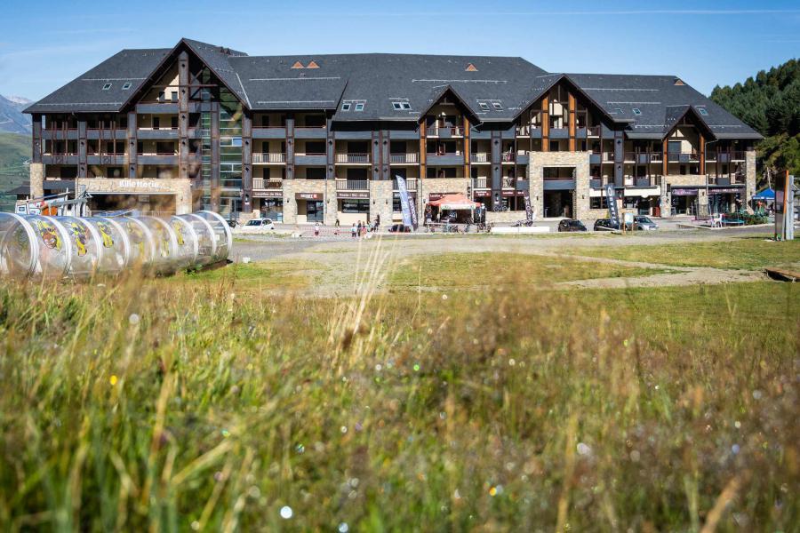 Location au ski Residence Le Serias - Peyragudes - Extérieur hiver