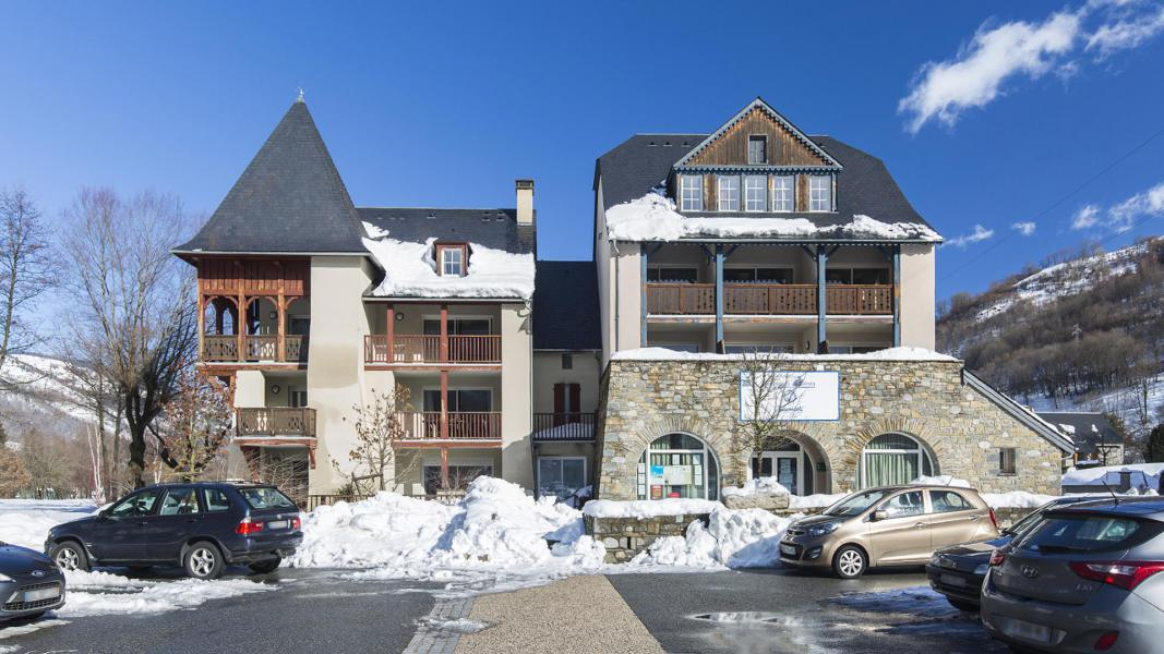 Location au ski Résidence les Jardins de Balnéa - Peyragudes - Extérieur hiver