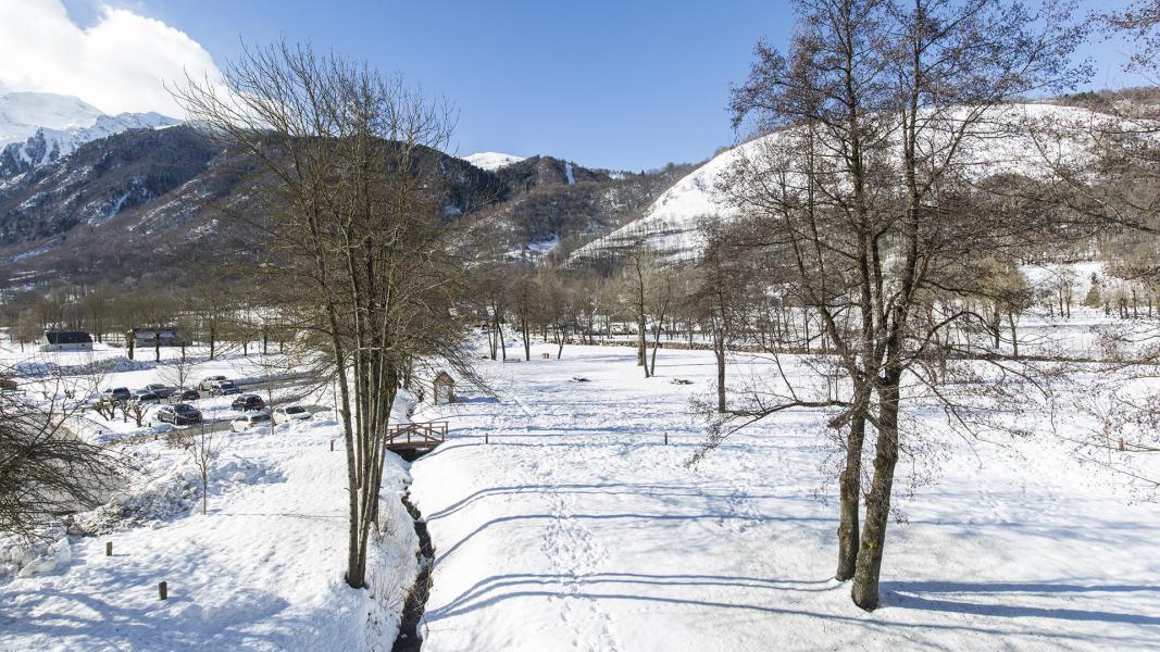 Vakantie in de bergen Résidence les Jardins de Balnéa - Peyragudes - Buiten winter