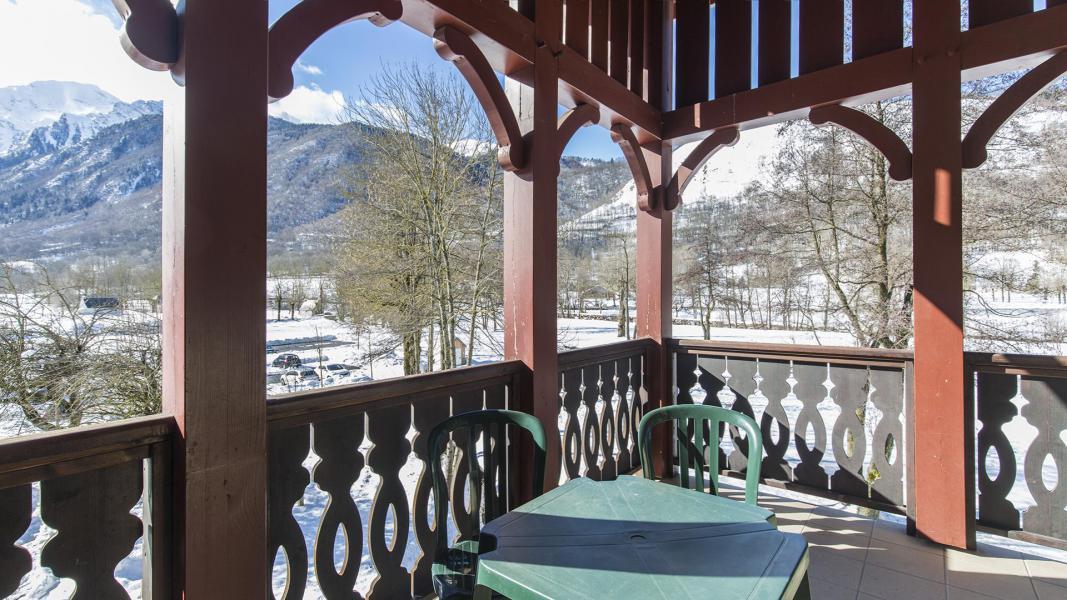 Rent in ski resort Résidence les Jardins de Balnéa - Peyragudes - Balcony