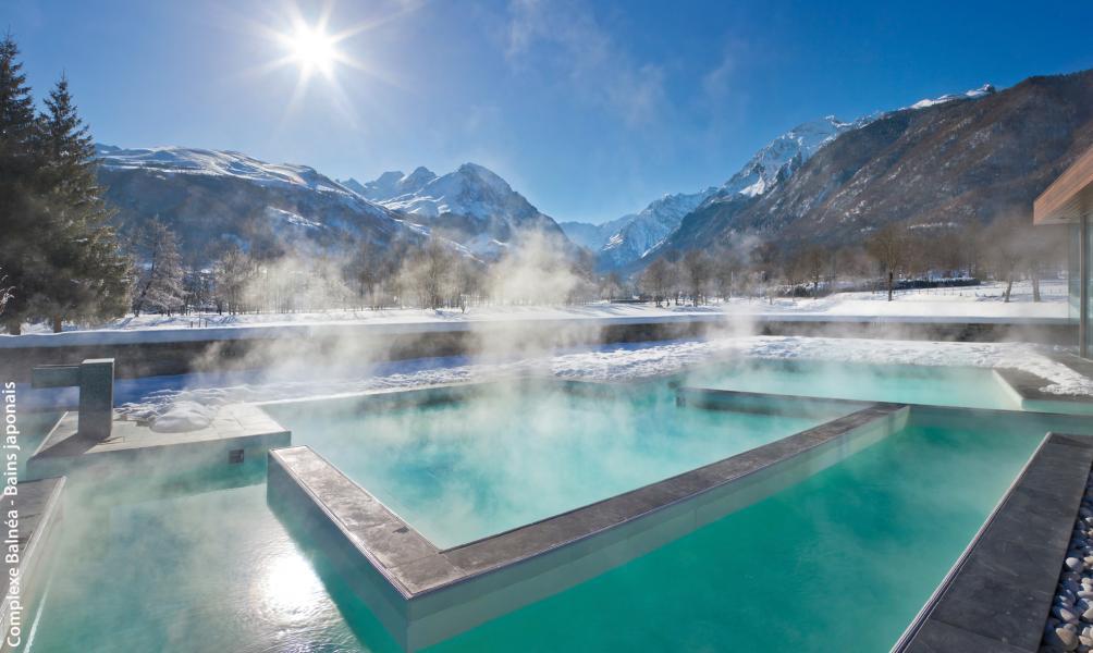 Location au ski Résidence les Jardins de Balnéa - Peyragudes - Jacuzzi