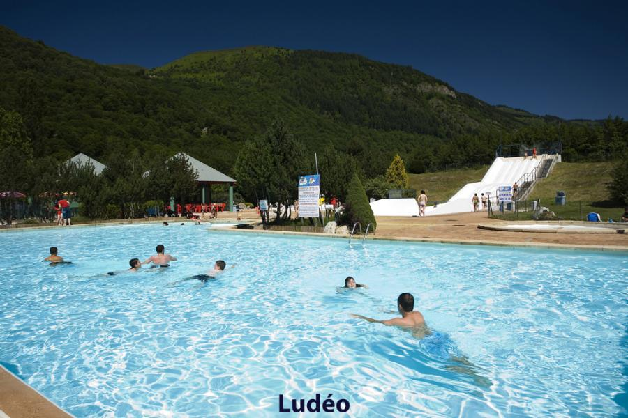 Location au ski Résidence les Jardins de Balnéa - Peyragudes - Piscine