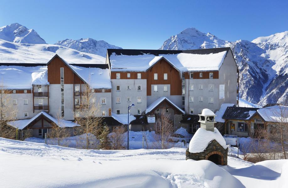 Location au ski Résidence Royal Peyragudes - Peyragudes - Extérieur hiver