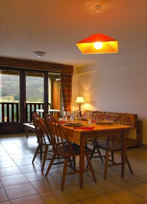 Location au ski Appartement 2 pièces cabine 5 personnes - Residence La Soulane - Peyragudes - Coin repas
