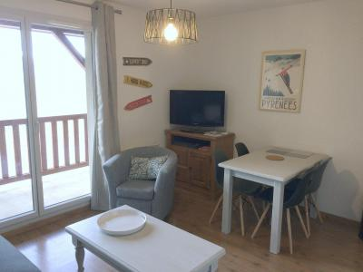 Rent in ski resort 2 room apartment 4 people (5) - Résidence le Hameau de Balestas - Peyragudes - Table
